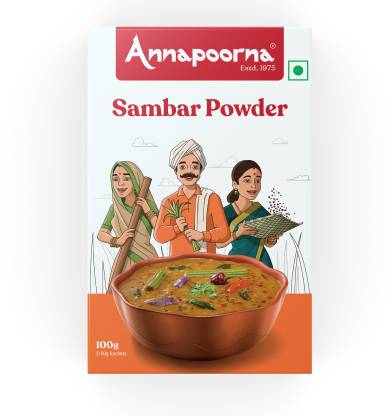 Annapoorna Sambar Powder 100g Carton