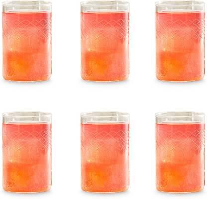 BOROSIL (Pack of 6) BN430120033 Glass Set