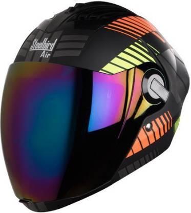 Steelbird Yooshopper SBA-2 ROBOT Matt Finish Motorbike Helmet