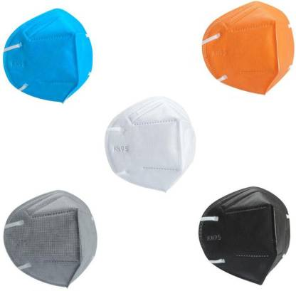 Nea N95 Breathable 5-Layer Anti- Pollution , Anti- Virus Reusable, Washable Protective Respiraory Face Mask N95 FFP2 MIX Water Resistant, Reusable, Washable
