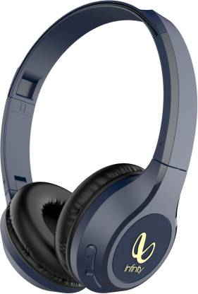 Infinity by JBL Black Tranz 700 Wireless Headphones