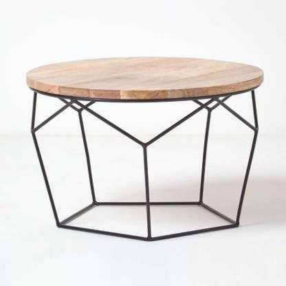 PRITI Coffee Table Solid Wood Coffee Table