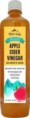 Mystic Range Apple Cider Vinegar with Mother (not from concentrate) - 100% Natural, Raw, Unfiltered Vinegar