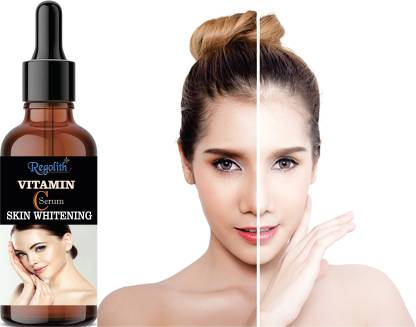 Regolith Vitamin C Serum For Face With Hyaluronic Acid, Witch Hazel Extract, Grape Seed Extract, Face Pigmentation