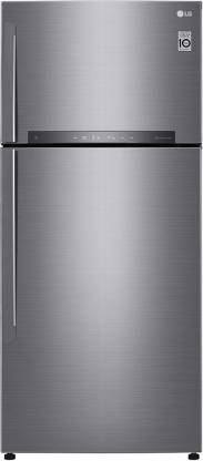 LG 547 L Frost Free Double Door 3 Star Refrigerator  with with Door Cooling and Smart ThinQ(WiFi Enabled)