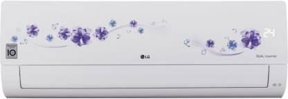 LG 1.5 Ton 3 Star Split Dual Inverter AC  - Floral White
