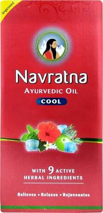 Navratna Ayurvedic Cool Hair Oil