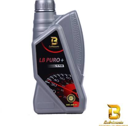 LB PURO + 4T PLUS ENGINE OIL 900 ML. PURO + 4T PLUS ENGINE OIL Full-Synthetic Engine Oil