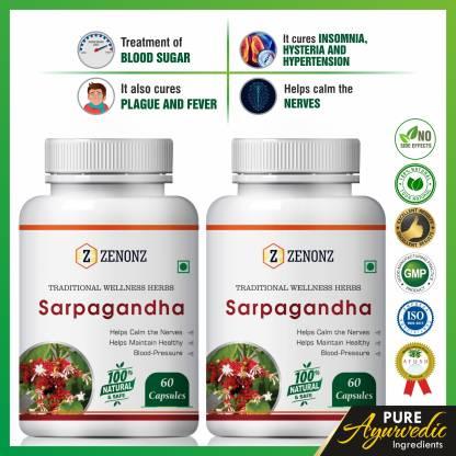 zenonz Sarpagandha for control blood pressure