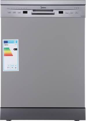 Midea TORRINO,WQP12-5201F Free Standing 13 Place Settings Dishwasher