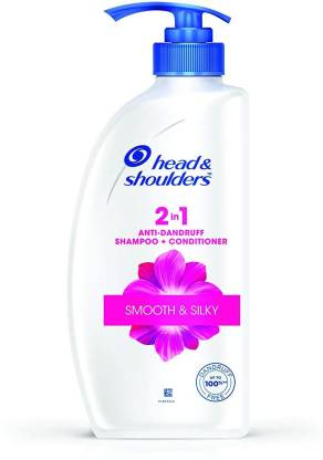 Head & Shoulders Smooth and Silky Shampoo, 650 ml