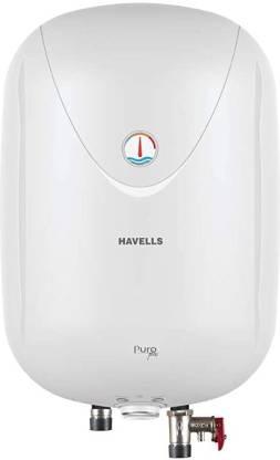 HAVELLS 25 L Storage Water Geyser (Puro Plus, White)