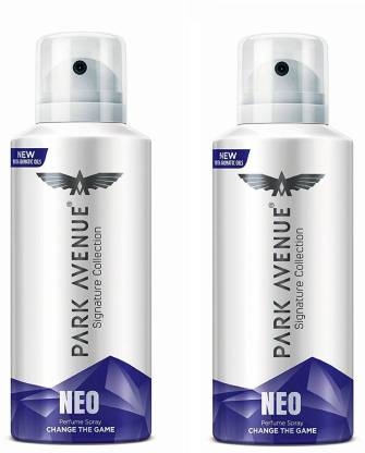 PARK AVENUE Neo Signature Collection Body Spray 130ML Each (Pack of 2) Deodorant Spray  -  For Men & Women