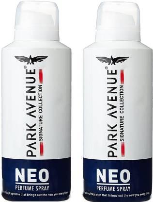 PARK AVENUE Neo Signature (Pack of 2) Deodorant Spray  -  For Men
