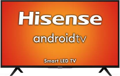 Hisense A56E 102 cm (40 inch) Full HD LED Smart Android TV with 9.0 PIE