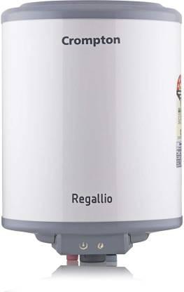 CROMPTON 15 L Storage Water Geyser (REGALLIO, WHITE AND GREY)