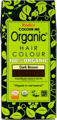 Radico 100% Organic Dark Brown USDA Certified , Dark Brown