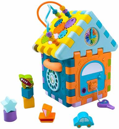 Smartcraft Baby Activity House Cubic Block Play Center, Children Educational Activity House Toys Gift for Kids