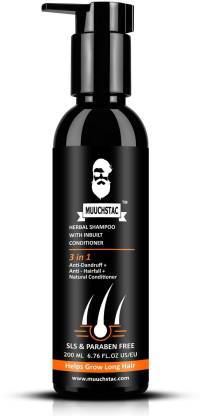 MUUCHSTAC Anti-dandruff & Anti-Hairfall Shampoo
