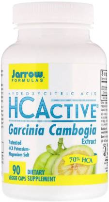 Jarrow Formulas HCActive' Garcinia Cambogia Extract - 500 mg - 90 Capsules(90 No)