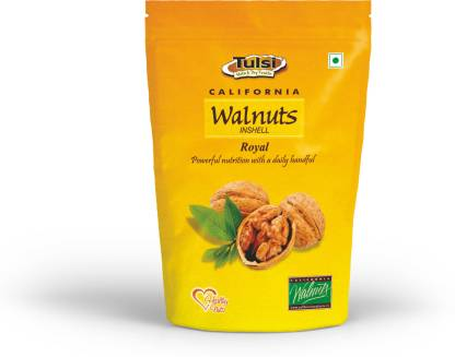 Tulsi California Walnuts Inshell Royal 500gm Walnuts