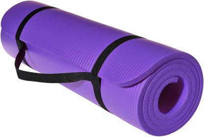 Ozoy 13mm Extra Thick Yoga and Exercise Mat with Carrying Strap Purple 13  mm Yoga Mat - Buy Ozoy 13mm Extra Thick Yoga and Exercise Mat with Carrying  Strap Purple 13 mm