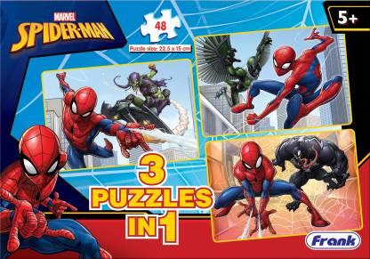 Frank Spider-Man 3 X 48 Pieces Puzzle
