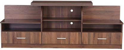 WUDRULE WSF11004 Engineered Wood TV Entertainment Unit Finish Color   Brown
