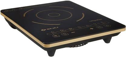 BAJAJ Stylish 2000 watt Magnifique black cooktop induction Induction Cooktop