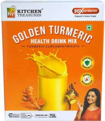 Kitchen Treasures Golden Turmeric Health Drink Mix