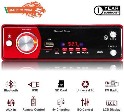 Sound Boss USB/SD/BLUETOOTH/AUX/FM/MP3 Car Stereo