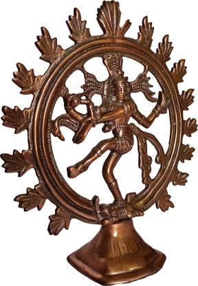 The Art Box Lord Shiva Nataraj Statue Natraj Idol Shiva Shiv Natraja Decorative Showpiece  -  32 cm