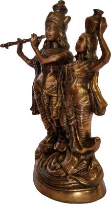 The Art Box Radha Krishna Statue Radha Krishna Idol Radha Krishan Decorative Showpiece  -  45 cm