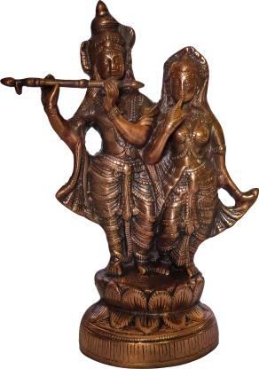 The Art Box Radha Krishna Statue Radha Krishna Idol Radha Krishan Decorative Showpiece  -  42 cm
