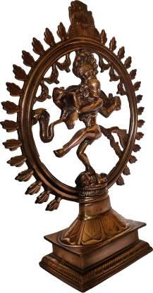 The Art Box Lord Shiva Nataraj Statue Natraj Idol Shiva Shiv Natraja Decorative Showpiece  -  46 cm