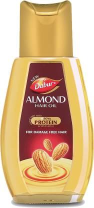 Dabur Almond Hair Oil Soya Protein and Vitamin E Hair Oil
