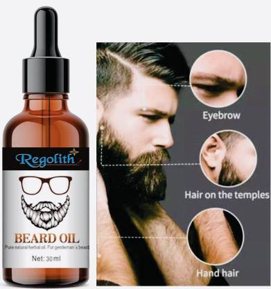 Regolith Advanced Beard Growth Oil for Men - for Beard Growth - hair oil  Hair Oil