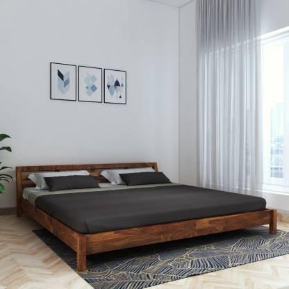 Vintej Home Hugo Sheesham Solid Wood King Bed
