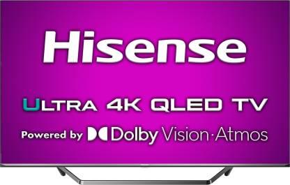Hisense U7QF Series 164 cm (65 inch) QLED Ultra HD (4K) Smart Android TV Full Array Dolby Vision & ATMOS