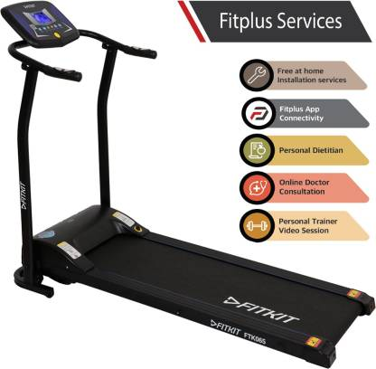 FITKIT FTK065 2HP Peak Power Treadmill for ₹13,999