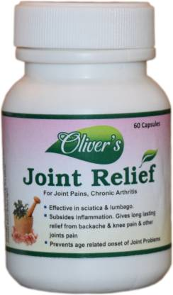 Oliver's Joint Relief - Quick Relief from all sorts of joint pains. A natural product with no side effects.