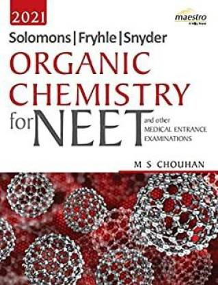 Wiley's Solomons Fryhle Snyder Organic Chemistry for NEET 2021