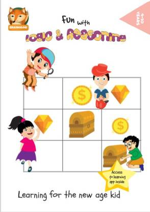 Brainologi Logic and Reasoning Activity Book and Android App - Develop Mathematical and Deductive Skills - Brain Exercises For Logical Reasoning and Analysis   Activity Book For 9-10 Year Olds. - Brainologi Fun with Logic And Reasoning Activity Book & Android App   Develop Logic, Deductive Skills and Creativity  For 9-10 Year Olds.