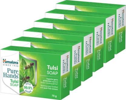 Himalaya Pure Hands Tulsi soap (6 x 75 g)
