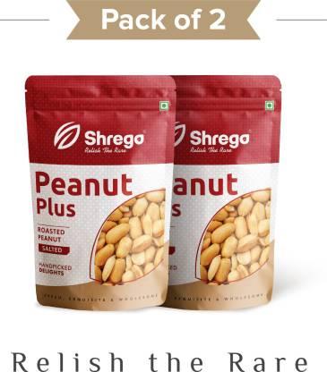 shrego Peanut Plus Roasted Peanuts Salted 400G (2x200G Vacuum Packed)