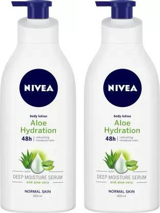 NIVEA Body Lotion, Aloe Hydration
