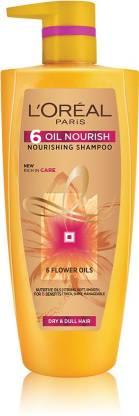 L'Oréal Paris 6 Oil Nourish Shampoo, 1 ltr