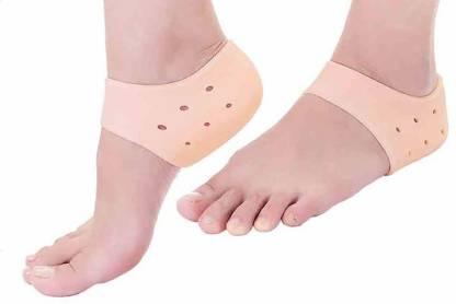 keydus Silicone Heel Protector Socks For Pedicure Moisturizing Breathable Anti Crack Sock Heel Support