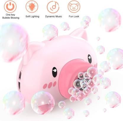 Smartcraft Bubble Camera Series, Bubble Machine Toy for Kids, Bubble Maker Machine Camera Shape with Music and Light Toy Bubble Maker