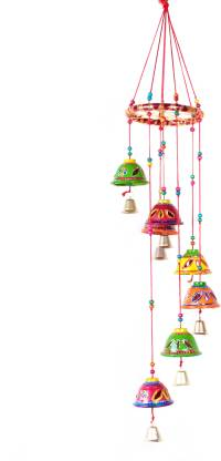 RVART new Gifting Decorative Showpiece wind chime Paper Windchime
